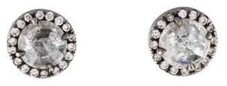 Monique Péan 18K Diamond Stud Earrings Black Monique Péan 18K Diamond Stud Earrings