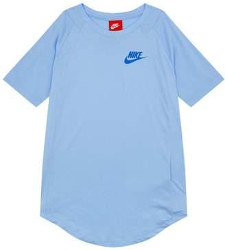 Nike Textured Sleeve Top