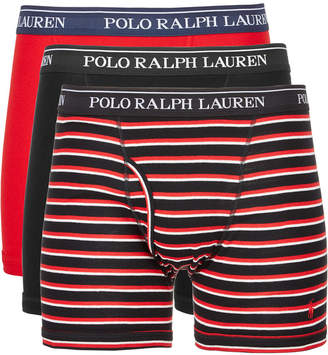 Polo Ralph Lauren Men 3-Pk. Classic Cotton Boxer Briefs