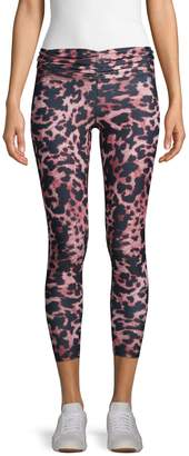 Body Language Reve Leopard-Print Active Leggings