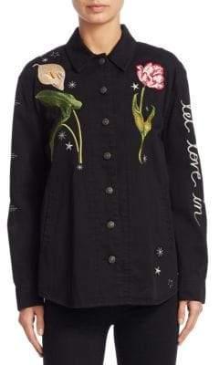 Cinq à Sept Botanical Canyon Cotton Jacket