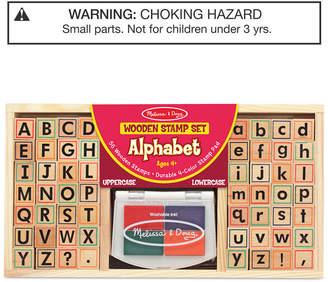 Melissa & Doug Kids Toys, Kids Alphabet Block Stamp Set
