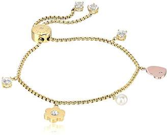 Michael Kors Womens -Tone Link Charm Bracelet
