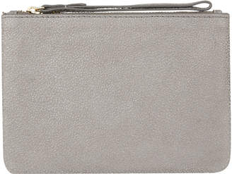 Free Uk Standard Delivery 40 At Accessorize Pewter Large Leather Coin Purse