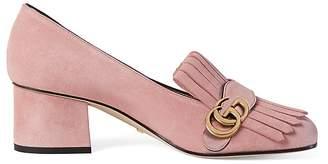 Gucci Women's Marmont Suede Pumps