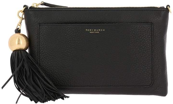 Tory Burch Clutch Shoulder Bag Women - BLACK - STYLE
