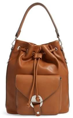BP Faux Leather Bucket Bag