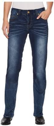 Rock and Roll Cowgirl Boyfriend in Dark Vintage W2-5092 Women's Jeans