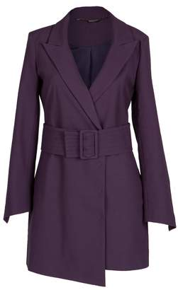 Mulberry Louise Black High Heeled Blazer Dress