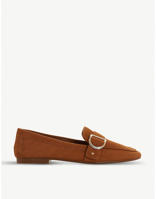 Dune Graysy D-Ring buckle loafers