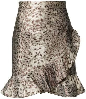 Just Cavalli ruffled skirt