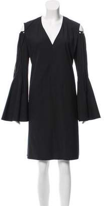 Derek Lam Cold Shoulder Shift Dress