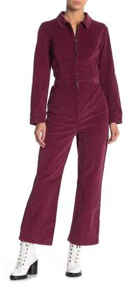 Free People Take Me Out Cord Jumpsuit