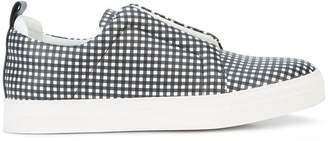 Pierre Hardy checked Slider sneakers