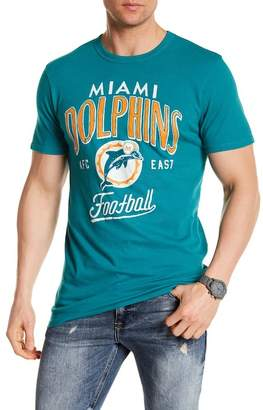 Junk Food Clothing Miami Dolphins Kick Off Tee