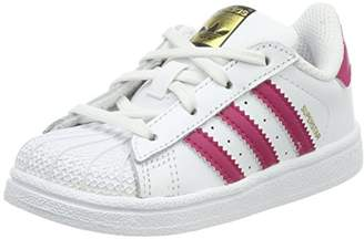 dfd0924d8ee3da adidas Unisex Babies  Superstar I Gymnastics Shoes