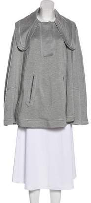 Chloé Collared Knit Cape w/ Tags
