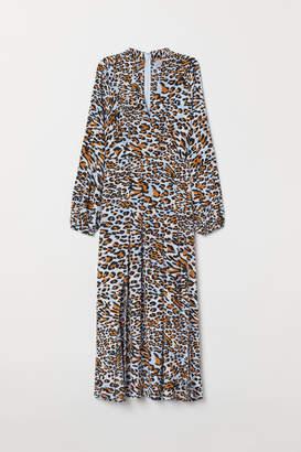 H&M Calf-length Dress - Blue