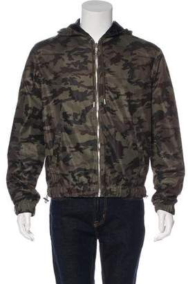 Givenchy Perforated Camouflage Jacket