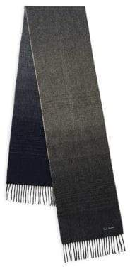 Paul Smith Graduation Cashmere Scarf