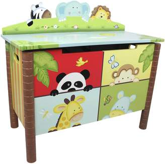 Fantasy Fields By Teamson Fantasy Fields Sunny Safari Kids Toy Chest