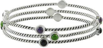 Artsmith BY BARSE Art Smith by BARSE 3-pc. Genuine Color-Enhanced Stone Bracelet Set
