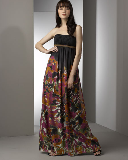 Kay Unger New York Chiffon Gown
