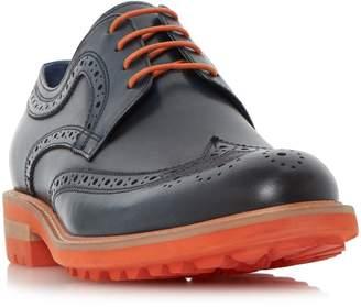 Dune MENS BRIXTON - Colour Pop Cleated Sole Brogue Shoe