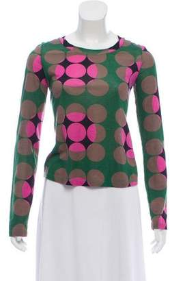 Marni Long Sleeve Scoop Neck Top