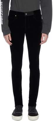 RtA Velvet skinny pants
