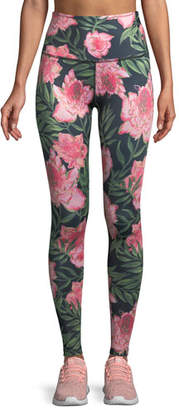 Beyond Yoga Lux Floral High-Rise Full-Length Leggings