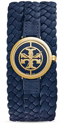 Tory Burch The Reva Leather Wrap Watch, 29mm $395 thestylecure.com
