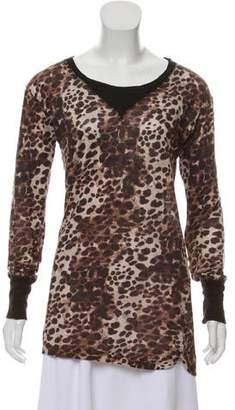 Etoile Isabel Marant Linen V-Neck Sweater