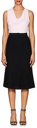 Narciso Rodriguez Women's Silk Belted Dress