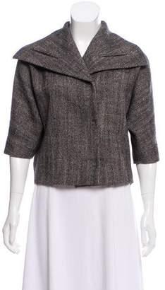 Etro Wool Crop Jacket