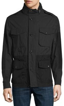 Moncler Cotton & Nylon Field Jacket