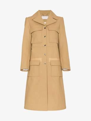 Chloé Cotton patch pocket coat