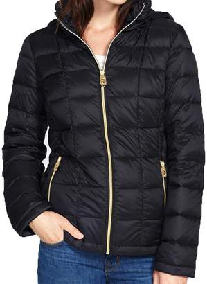 MICHAEL Michael Kors Hooded Down Packable Coat (XLarge)