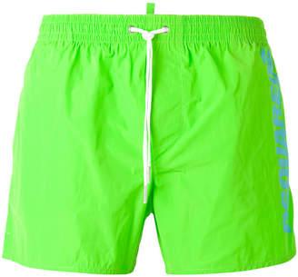 DSQUARED2 side logo swim trunks