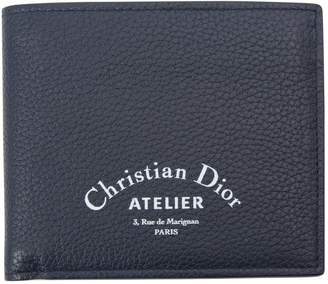 Christian Dior Navy Leather Small Bag, wallets & cases