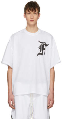 Fear Of God SSENSE Exclusive White Mesh Batting Practice Jersey T-Shirt