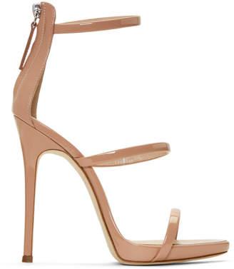 Giuseppe Zanotti SSENSE Exclusive Pink Coline 110 Sandals