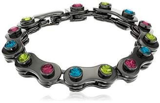 Nicole Miller Artelier Chain Gear Link Bracelet