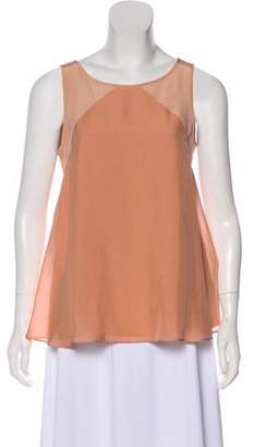 Tibi Silk Sleeveless Blouse