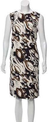 Les Copains Printed Midi Dress w/ Tags