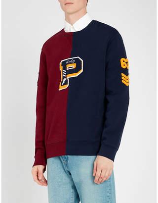 Polo Ralph Lauren Two-tone jersey sweatshirt