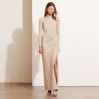 Ralph Lauren Metallic Scoop-Back Gown $220 thestylecure.com