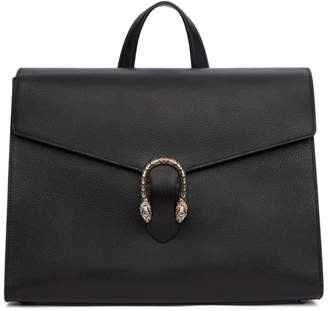 Gucci Black Dionysus Briefcase
