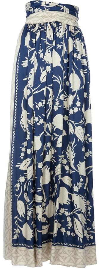Giorgio Armani Vintage printed skirt