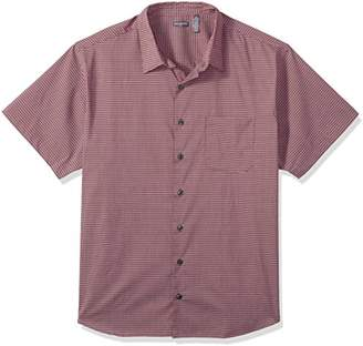 Van Heusen Men's Big and Tall Flex Stretch Short Sleeve Non Iron Shirt (Big and Tall & Tall Slim)